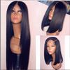 Lace Front Black Wig short pixie cut wigs for black women hand tied Lace hair wigs african american