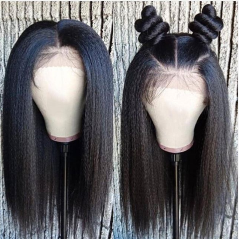 Lace Front Black Wig lace front black and white wig hotkis Lace hair wigs
