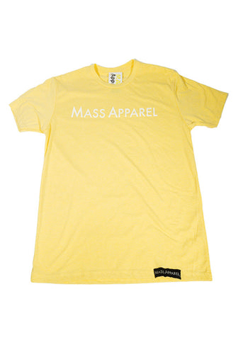 Mass Apparel Staple Tee (Banana Cream),Mass Apparel - Mass Apparel