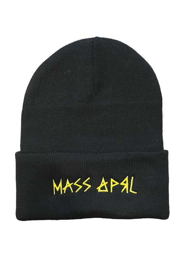 Mass Apparel Stick Beanie (Black)