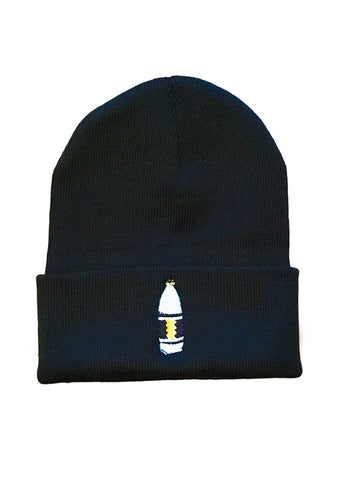 Mass Apparel 40 oz. Beanie (Black),Mass Apparel - Mass Apparel