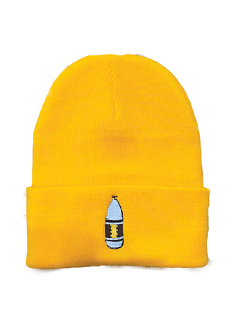Mass Apparel 40 oz. Beanie (Gold),Mass Apparel - Mass Apparel