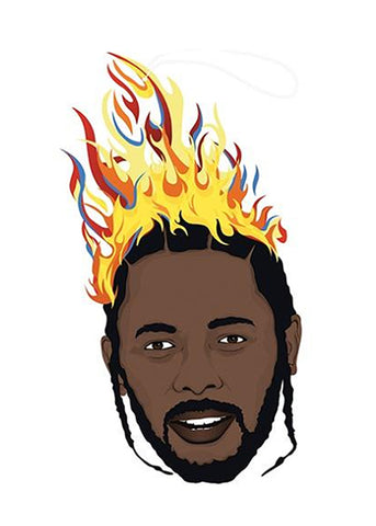 Pro and Hop Kendrick Lamar Air Freshener