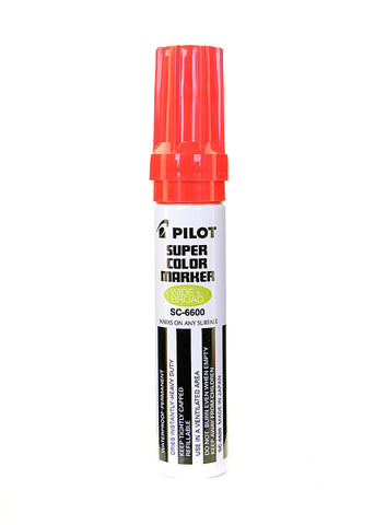 Pilot Marker Jumbo Red,Pilot - Mass Apparel