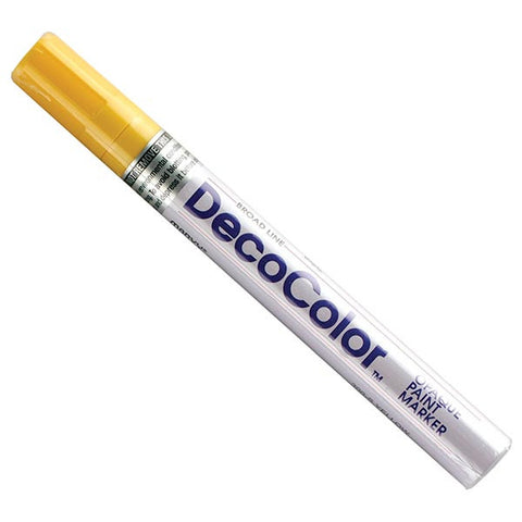 DecoColor Marker Yellow,DecoColor - Mass Apparel