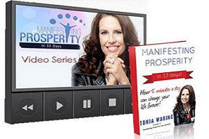 Manifesting Prosperity in 33 Days: Success Journal AND Video Series