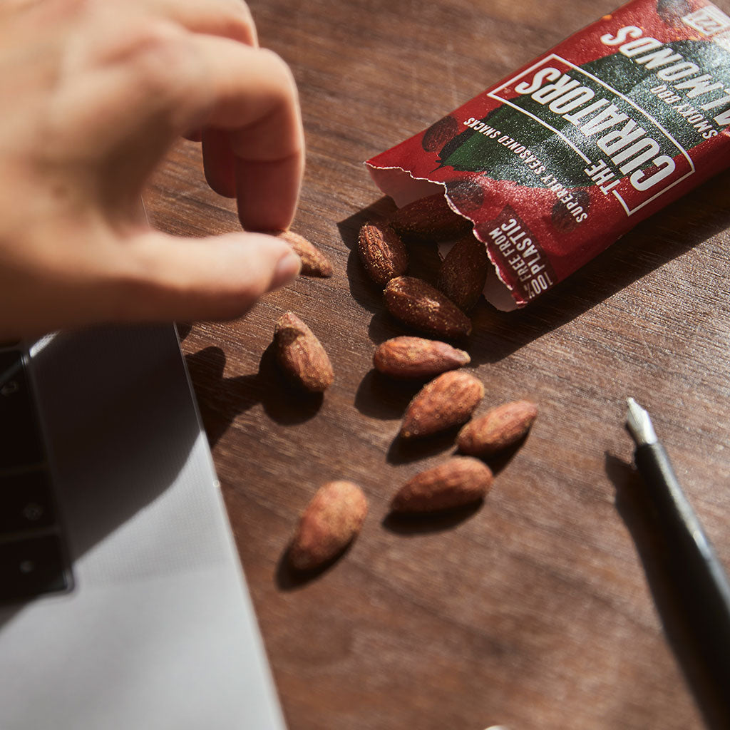 Smoky BBQ Almonds