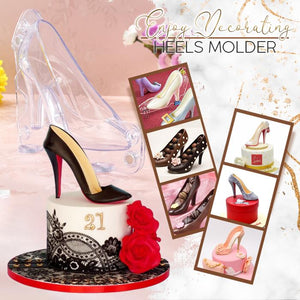 Deluxe 3D High Heel Mold