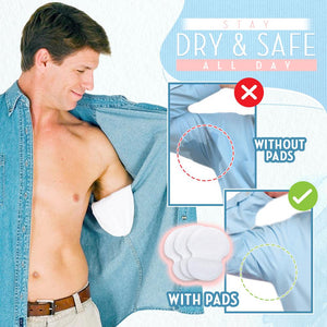 Invisible Underarm Sweat Pads