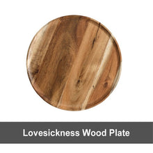 Load image into Gallery viewer, Wooden Plate