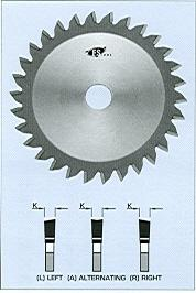 FS Tool 560100A-22<br>100mm x 22mm, Edge Banding Saw Blades, 20 Teeth