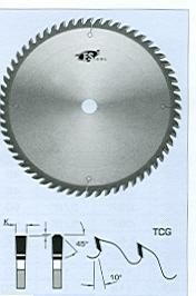 "FS Tool L19400<br>16"" x 1"", Cross Cut Saw Blades, TCG, 80 Teeth"