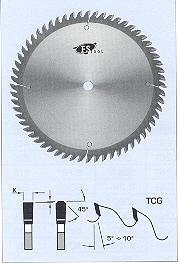 "FS Tool L23158<br>6-1/4"" x 2-11/16"", Standard Cross Cut Saw Blades, TCG, 40 Teeth"