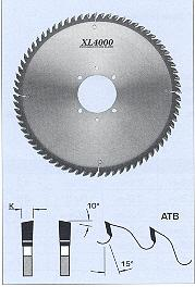 FS Tool L5045072-60<br>450mm x 60mm, XL4000 Panel Sizing Saw Blades, ATB, 72 Teeth