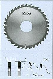 "FS Tool S03250<br>10"" x 5/8"", XL4000 Cross Cut Saw Blades, ATB, 40 Teeth"