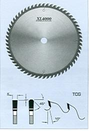 "FS Tool S19250<br>10"" x 5/8"", XL4000 Cross Cut Saw Blades, TCG, 40 Teeth"