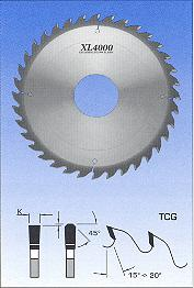 "FS Tool S22306<br>12"" x 1"", XL4000 Glue Line Rip Saw Blades, TCG, 36 Teeth"
