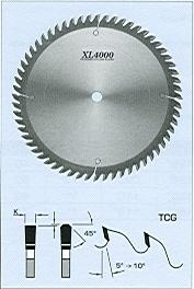 "FS Tool S23350<br>14"" x 1"", XL4000 Standard Cross Cut Saw Blades, TCG, 80 Teeth"