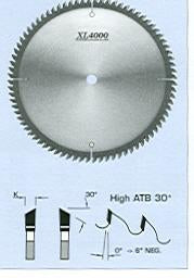 FS Tool SM6221-H<br>220mm x 30mm, XL 4000 Chip-Free Melamine Trim Blades, High ATB (30°), 64 Teeth