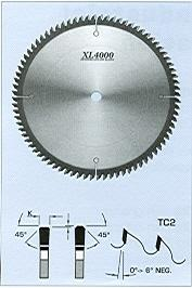 "FS Tool SS1200<br>8"" x 5/8"", XL4000 Solid Surface Saw Blades, TC2, 60 Teeth"