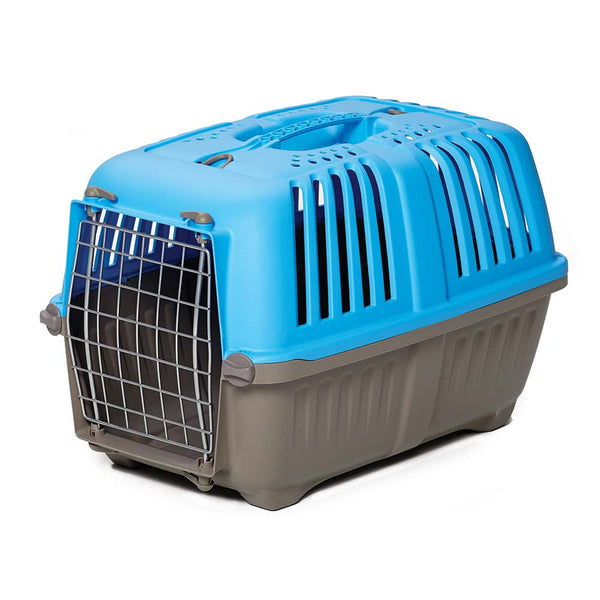 "Available in 19"" and 22"" sizes, Spree™ Pet Carriers are geared toward small dogs, cats, ferrets, guinea pigs, and other small animals."