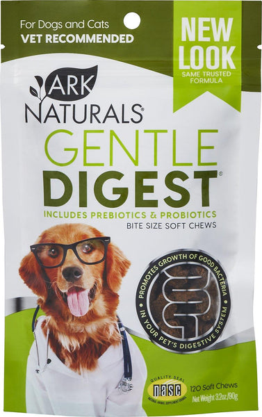 Ark Naturals Gentle Digest Soft Chews for Dogs and Cats