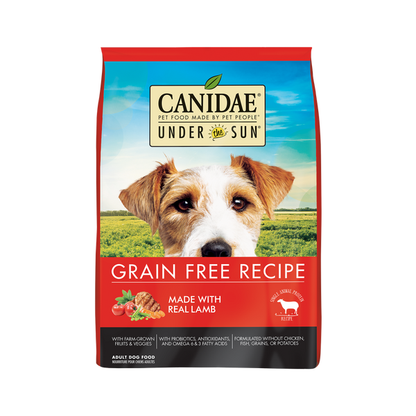 Canidae Under the Sun Grain Free Lamb Recipe Adult Dry Dog Food