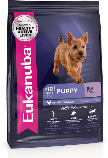 Eukanuba Puppy Early Advantage Small Breed Puppy Chicken Formula Dry Dog Food