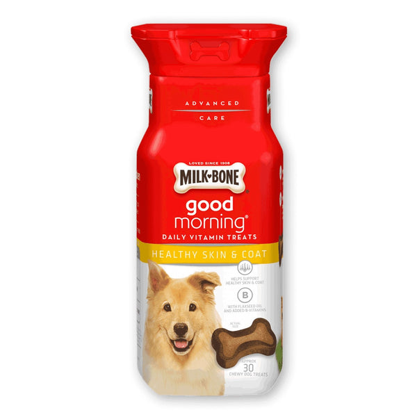 Milk-Bone Good Morning Daily Healthy Skin & Coat Vitamin Dog Treats