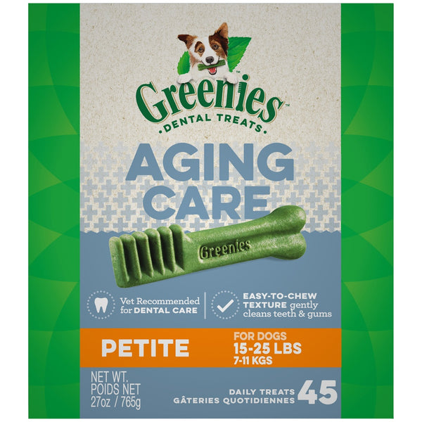 Greenies Aging Care Petite Dental Care Dog Treats