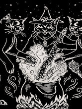 Load image into Gallery viewer, Cat Coven Tapestry