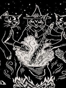 Cat Coven Tapestry