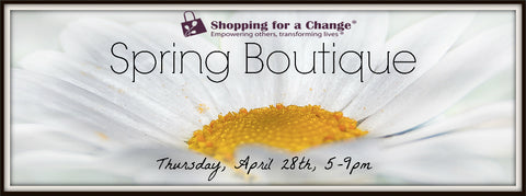 Ladies Night Out Spring Boutique with Shopping for a Change