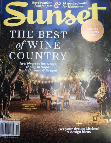 Sunset October 2015 Cover