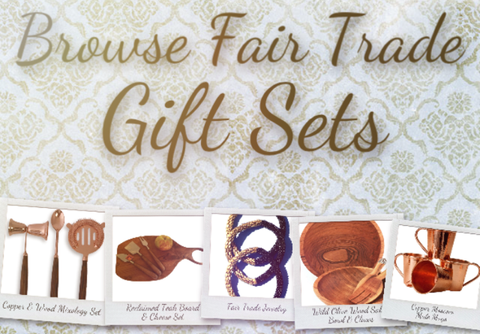 Fair trade shopping for a change gift sets