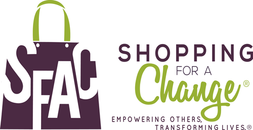 ShoppingForAChange Logo. Copyright: ShoppingForAChange
