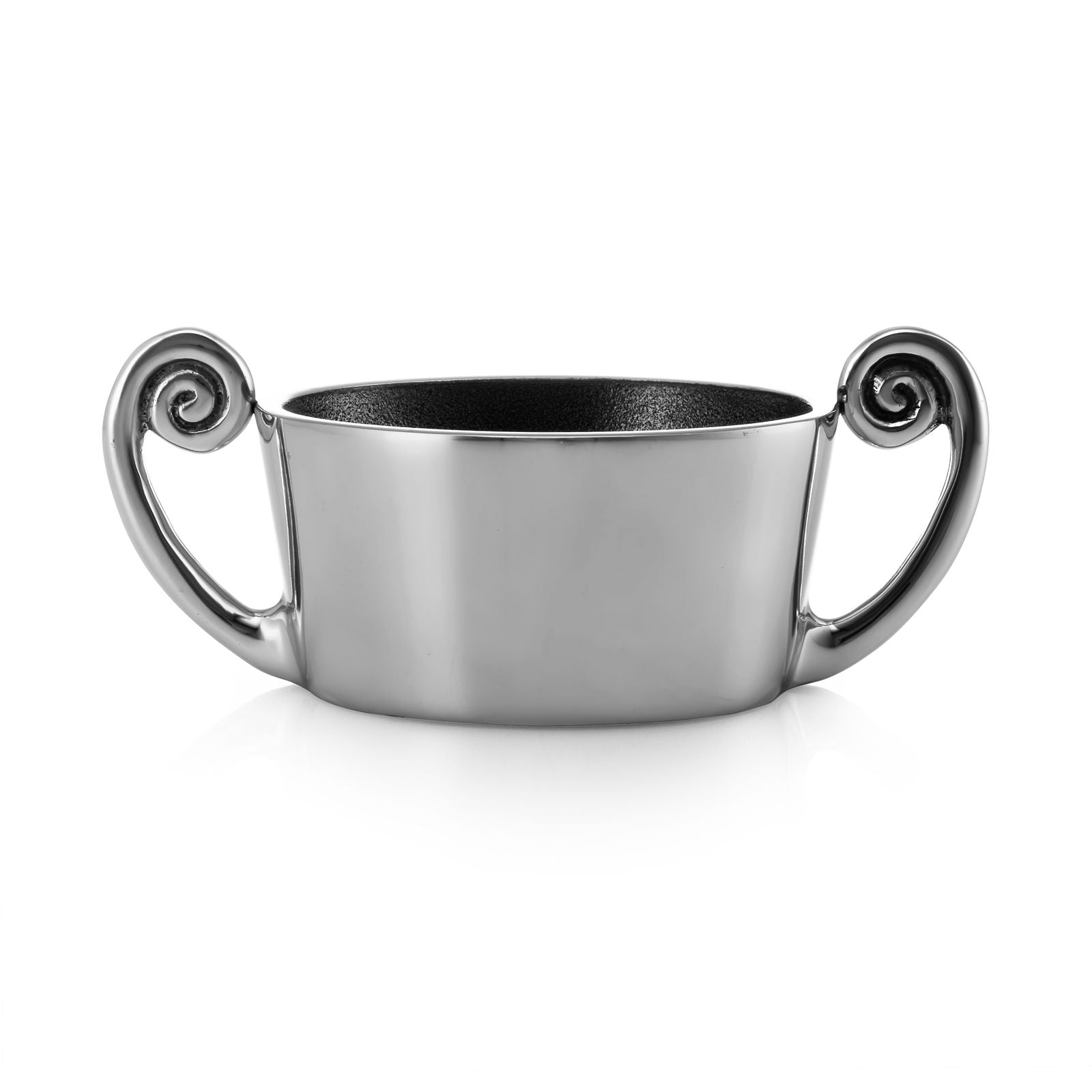 "Aluminum Sugar Bowl ""Wave"""
