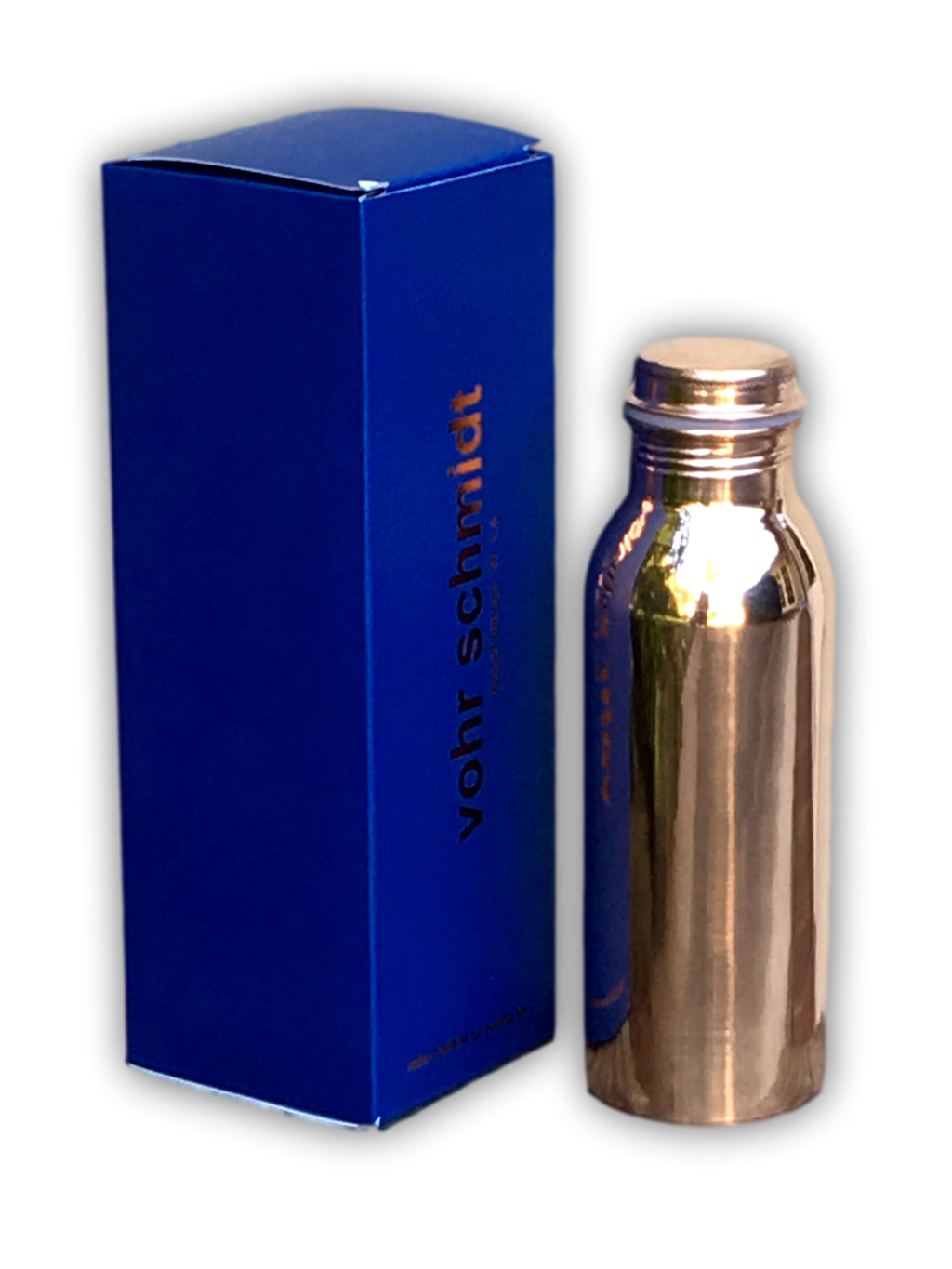 Ayurvedic Copper Water Bottle - 24 oz