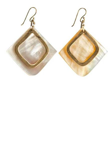 Baja Mother of Pearl Earrings