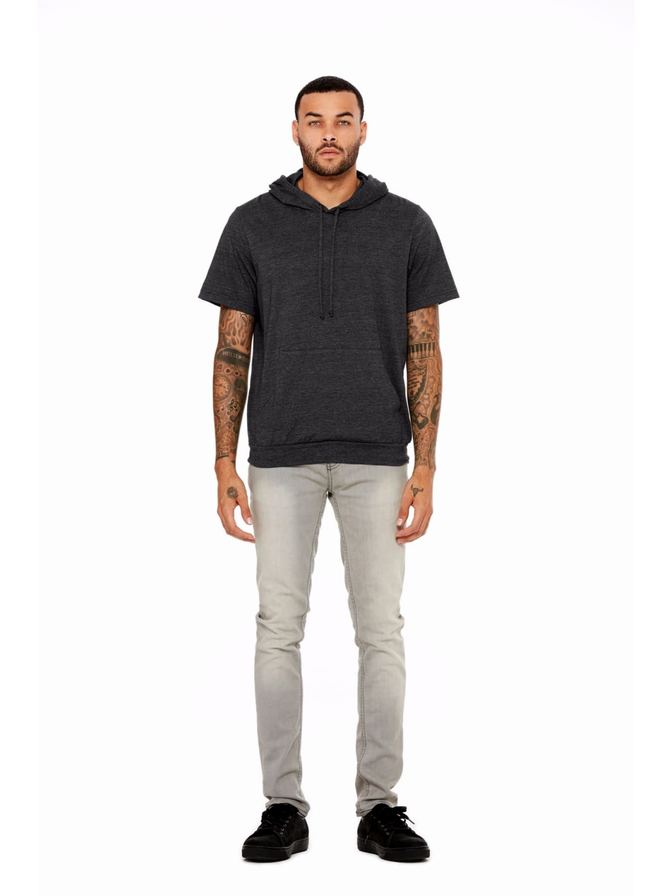 Men's Jersey Short Sleeve Hoodie — Shopping for a Change