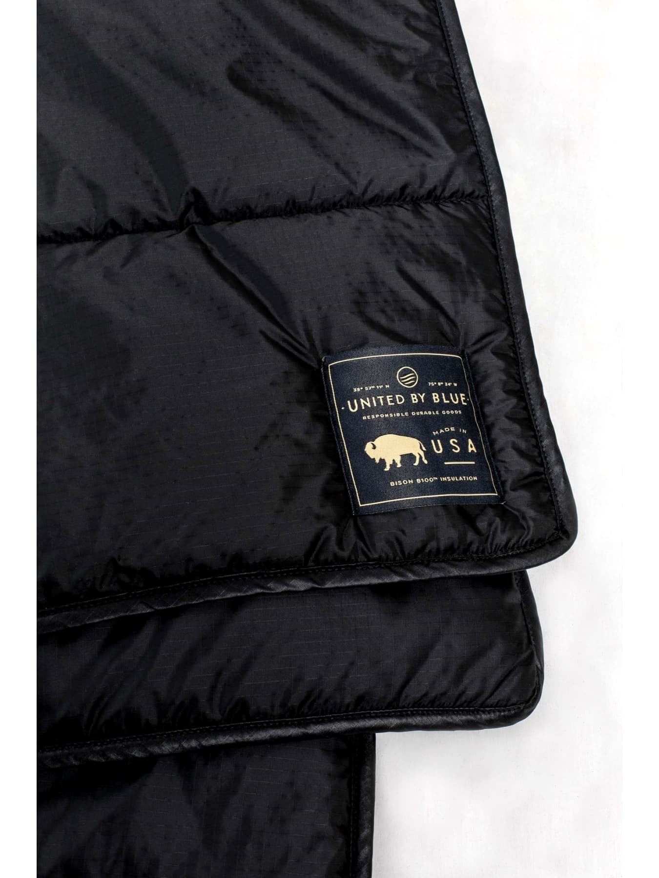 Bison Quilted Blanket