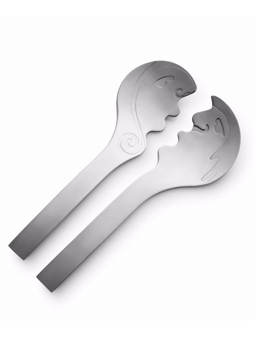 Carrol Boyes Kiss Stainless Steel Salad Servers