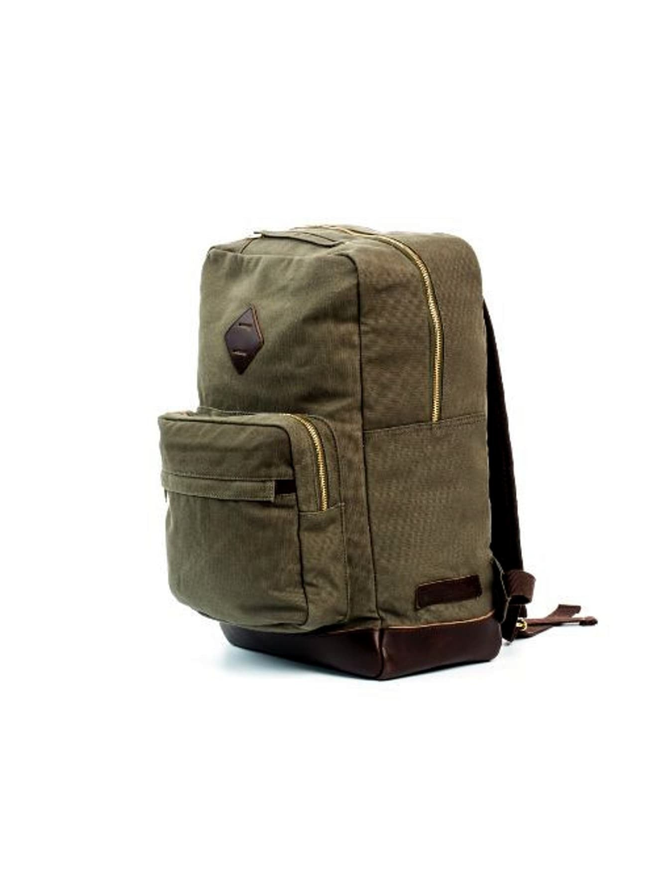 Cotton Canvas and Leather Hudderton Backpack