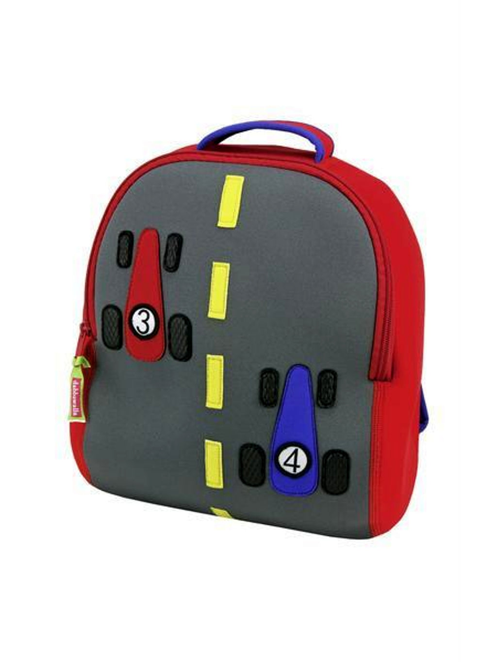 Dabbawalla Kid's Backpacks - Race Car