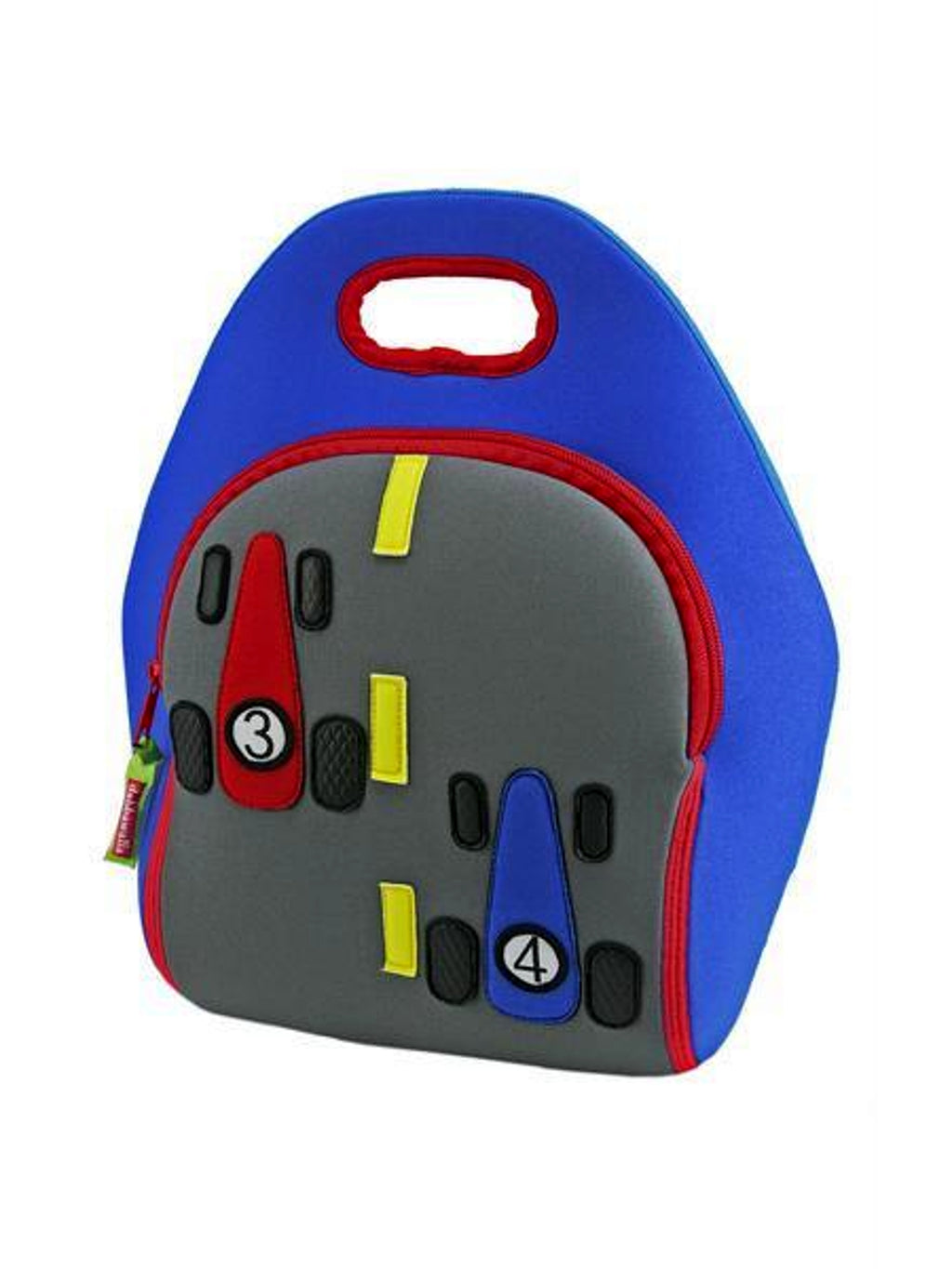 Dabbawalla Kid's Lunch Bags - Race Car