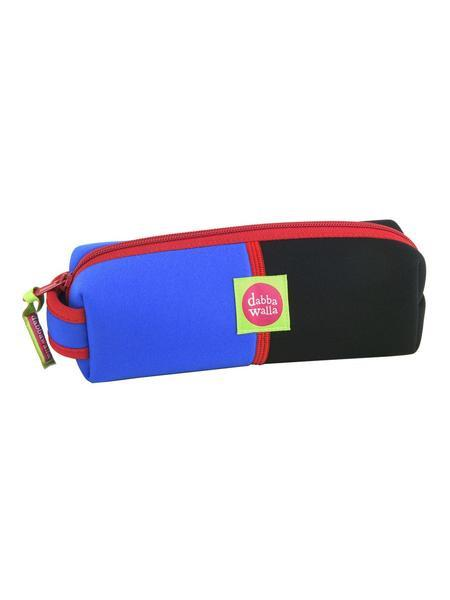 Dabbawalla Kid's Diddy Bag Pencil Case - Blue/Black