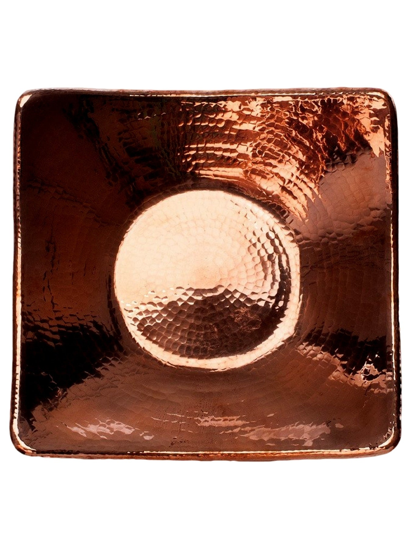 Flat Earth Copper Centerpiece