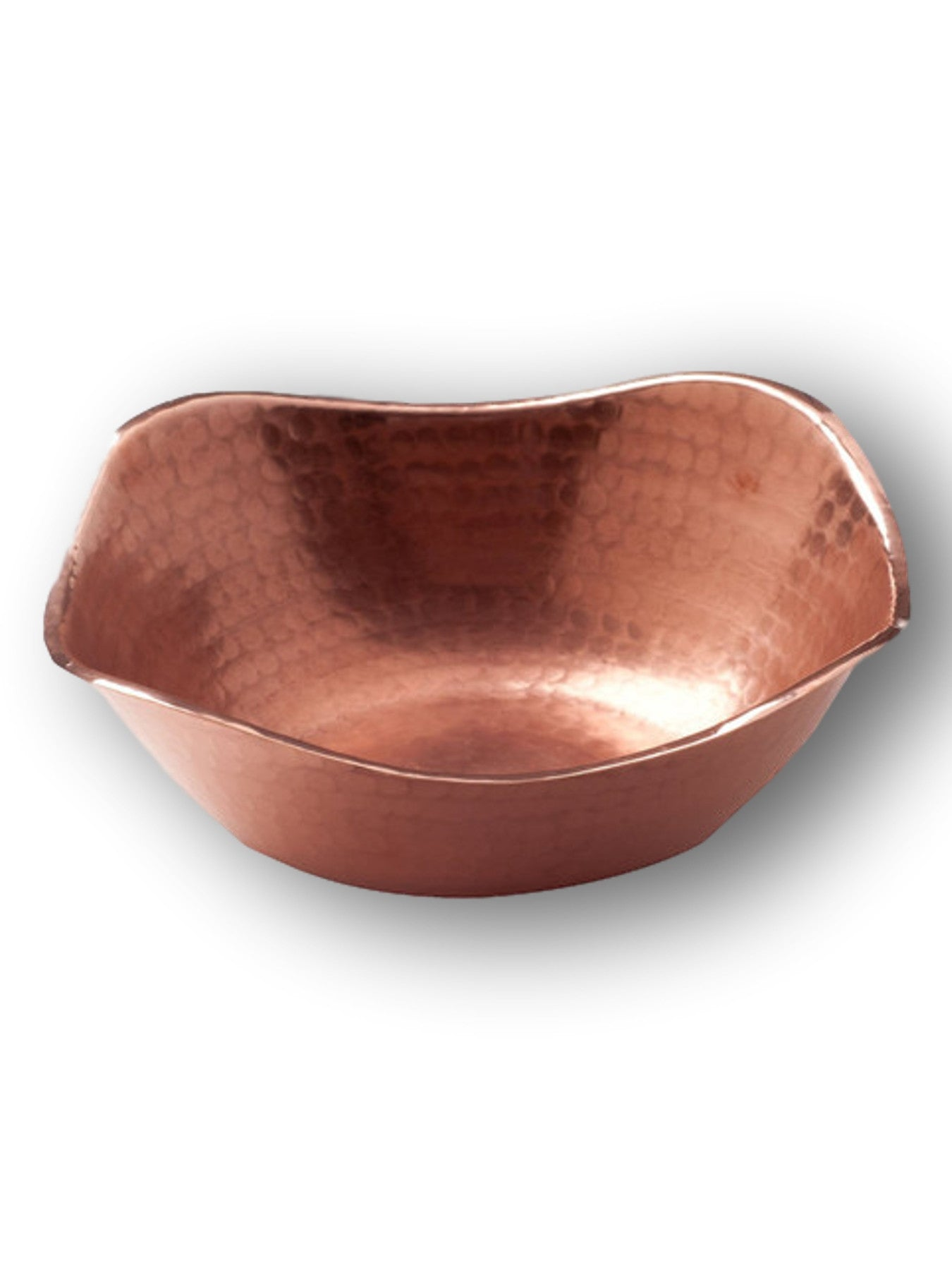 Flat Earth Copper Bowl--SPECIAL ORDER ONLY