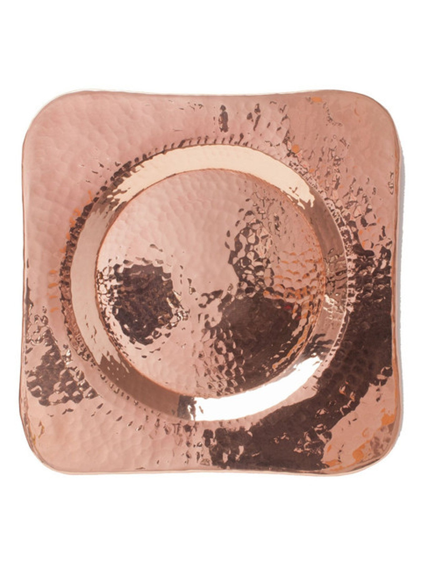 Hammered Copper Plate - SPECIAL ORDER