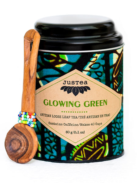 Glowing Green Tea